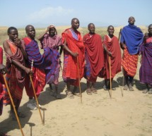 The Maasai, a tribe in Tanzania