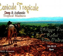 Canicule Tropicale: A combination of Vintage Music & Fun Atmosphere