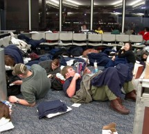 Stuck in an Airport Overnight