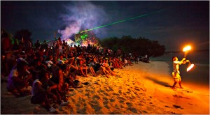 Beach Party in Bali