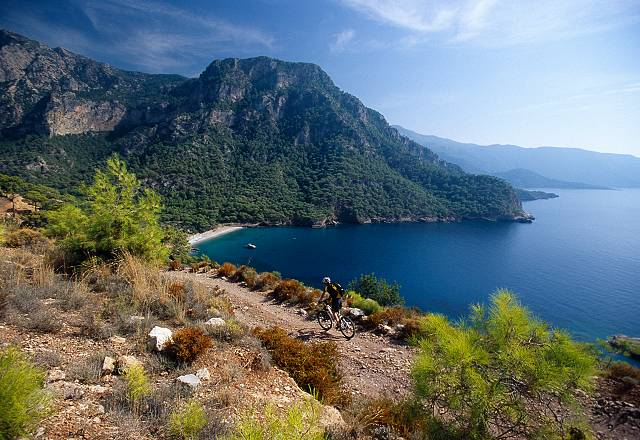 Kabak Beach, Lycian Way