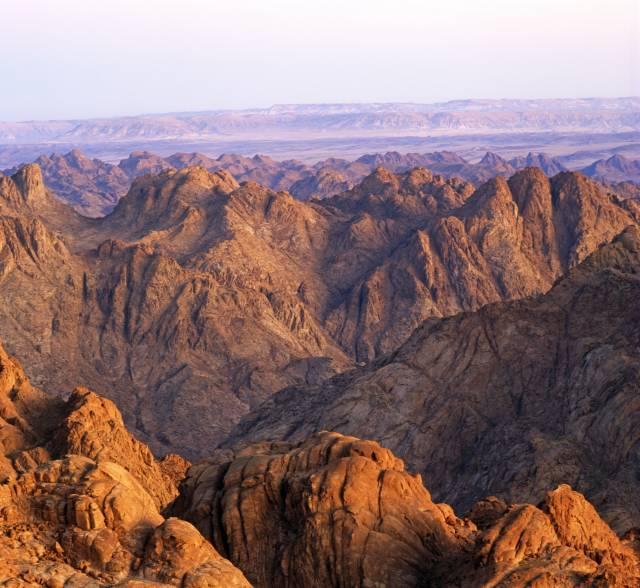 Sinai Desert Egypt.